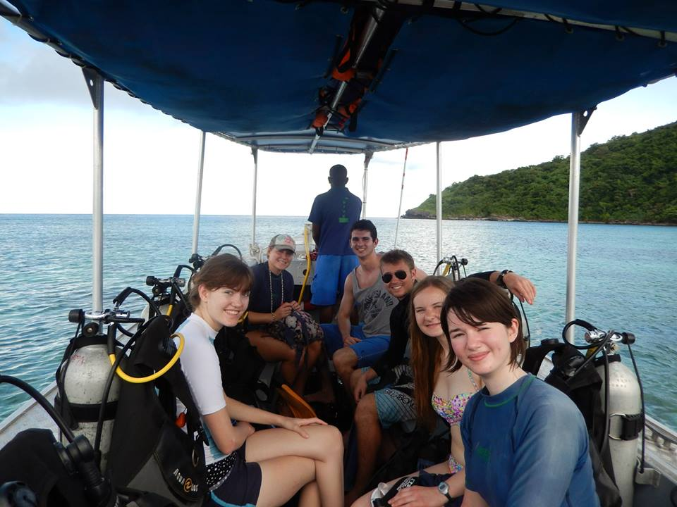 One of the SCUBA Trips